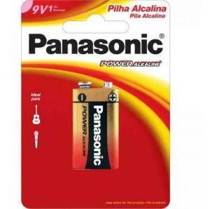 BATERIA PANASSONIC ALC. 9V C/1 -PANASSONIC