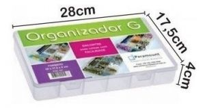 Box Organizador Color G 28x14,5x4  706 - Paramount