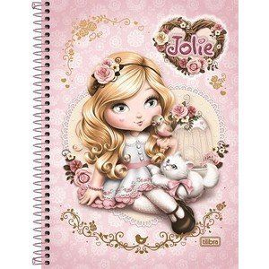 Caderno Universitário Capa Dura 16x1  320 fls Jolie - Tilibra