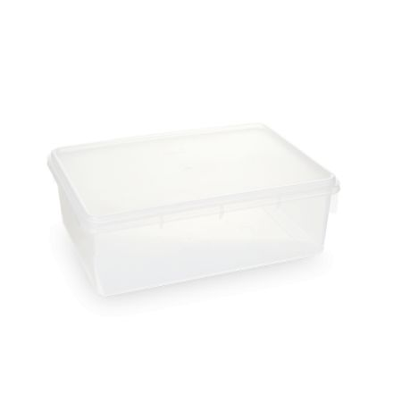 Caixa Retangular 11L Transparente - Plasvale