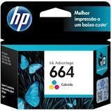 Cartucho de Tinta HP 664 Color