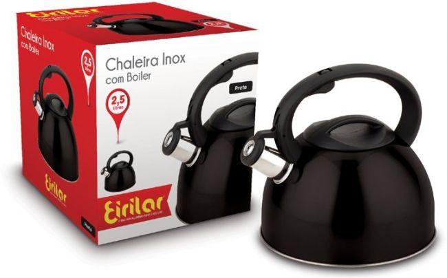 Chaleira Inox com Apito 2.5 Litros - Eirilar