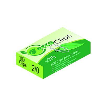 Clips De Aço Ecco  2/0 CX/100 UND Eccoclips