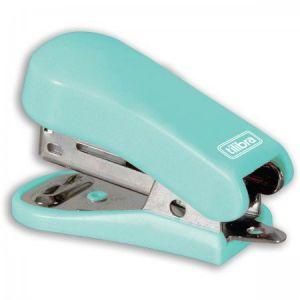 Grampeador 12 Folhas  Mini Com Extrator G101 Aqua -Tilibra