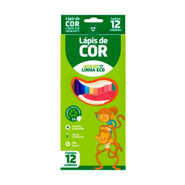 Lapis de Cor Eco  12 Cores  - Leo  Leo