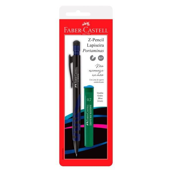 LAPISEIRA Z-PENCIL MIX 0.7MM  BLISTE FABER-CASTELL