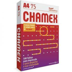 PAPEL  A4 75g/m 210 x 297mm 500Fls - CHAMEX