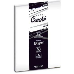 Papel Couche Brilho  Branco 180g  210x297  50 Folha - BAG