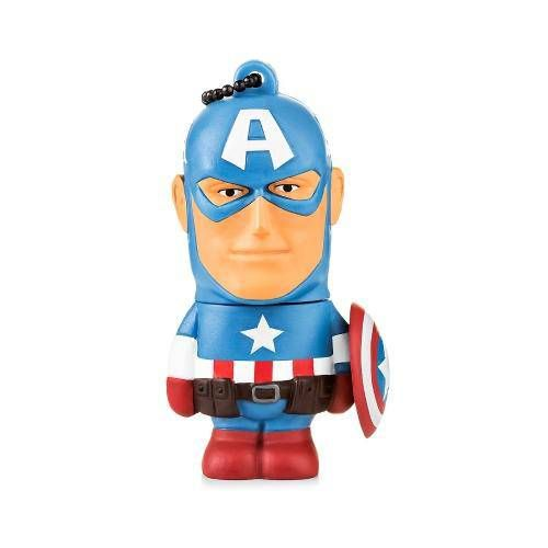 Pen Drive 8gb Marvel Capitão America Multilaser