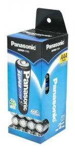 PILHA PANASSONIC SUPER HYPER AAA C/4 - PANASSONIC
