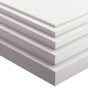 Placa de Isopor 100x50  20mm Isoplac