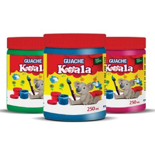 Tinta Guache 250ml. Koala cores